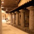 Sparta Village set - Production of roof tiles, wood beams and varied elements of set dressing.s et de divers éléments de «set dressing». Plaster production, installation and finition