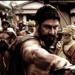 Sparta Village set - Shooting