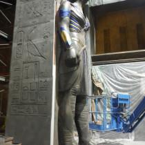 Final version of one of Apocalypse Horsemen Statue for the Great Room Temple (4 Horsemen)