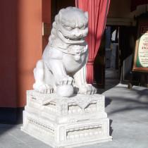 GRAUMAN CHINESE set - Sculpted Lion