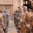 Mausoleum set - Life size chinese terracotta warriors and horses / Made from clay and styro sculpted models, molded and casted in plaster