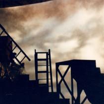 Rock Voisine clip 1993 - Cyclo scenic painting