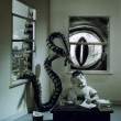 Micro Tempus Software1988 - Sculpture en plasticine et peinture pour photo shoot