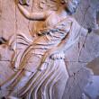 Déesse grescque Nyx 1994 - Sculpture en plasticine, moulée et produite en plâtre pour reproduction commerciale