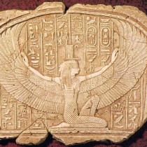Isis tombeau de Toutankhamon, 1994 - Sculpture en plâtre, moulée et produite en plâtre pour reproduction commerciale