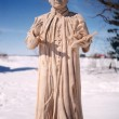 Statue du Père Antoine Marie Claret, fondateur de l'ordre des clarétains 1998 - Sculpture en argile, moulée et produite en plâtre. Hauteur 42 po.