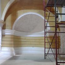 GARGAMEL'S LAIR Plaster ornementation and moldings