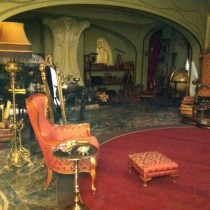 GARGAMEL'S PENTHOUSE  Set dressed interior Gargamel's Penthouse