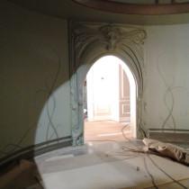 GARGAMEL'S PENTHOUSE  Ornemented Door, decorative arts style / water fiber