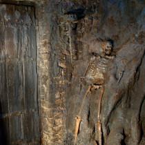 LAST TEMPLAR TV Serial, 2008 - Cavern set