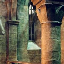 THE CASE OF THE WHITE CHAPEL, Sherlock Holmes TV Serial, 2001 - Church set