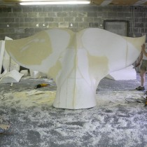 LE SENS DE L'HUMOUR  2010 - Beluga sculpted by Steve Totev, Lucie Fournier, Linda Bicari and Annie Verdon