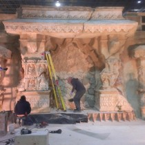 MONASTERY - Monastery Walls installation