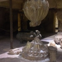 MONASTERY Interior entrance aftermath.